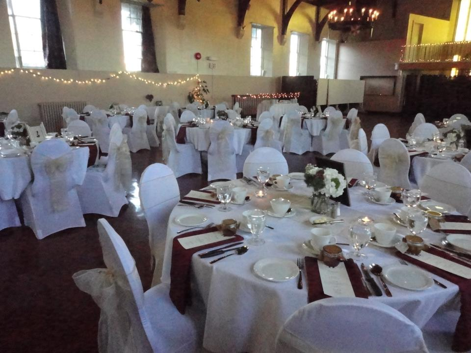 The Great Hall can host nearly 200 guests.