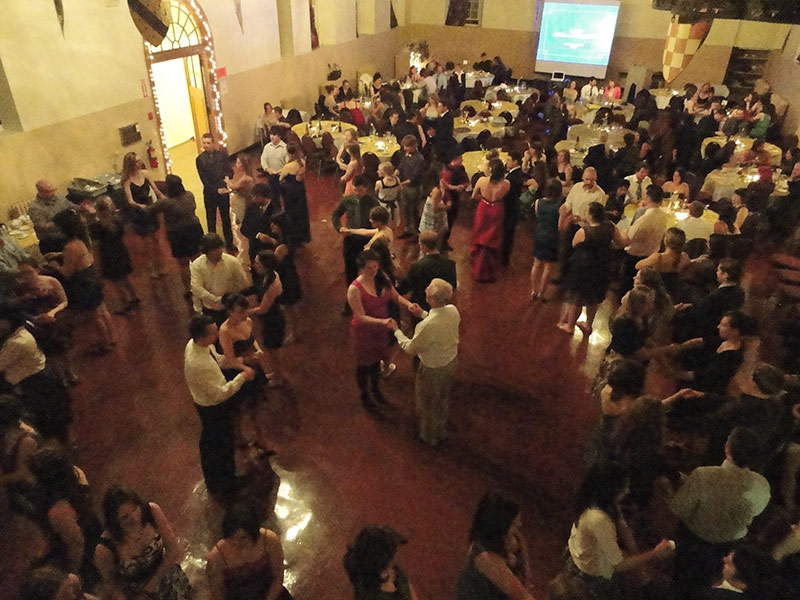 The Great Hall can host parties of all sizes.